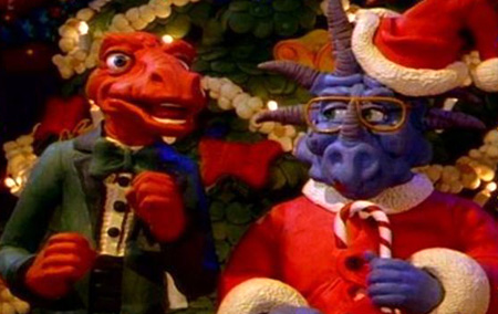 A Claymation Christmas Celebration Still