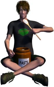 Manny Eating Paste
