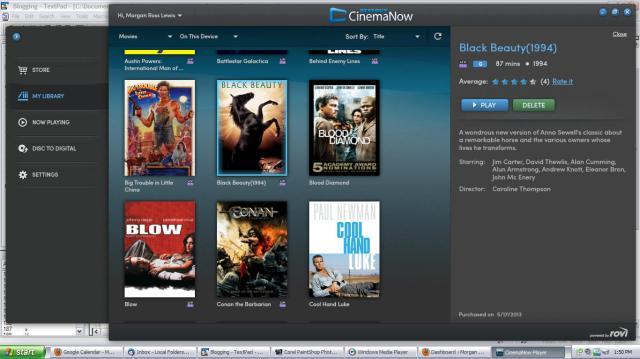 CinemaNowScreenshot
