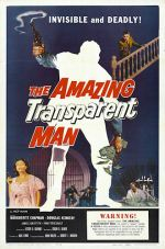 Amazing Transparent Man Poster