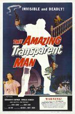 Amazing Transparent Man Poster