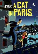 A Cat in Paris Poster
