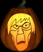 Creeper Jack-o-Lantern